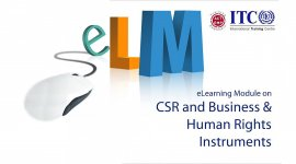 over image for eLearning Module on CSR and Business & Human Rights Instruments