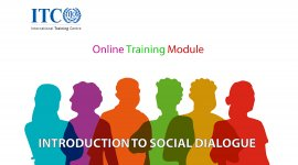 Cover image for eLearning Module on Social Dialogue