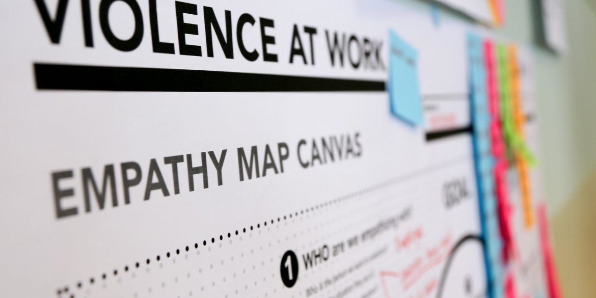 Violence at work empathy map
