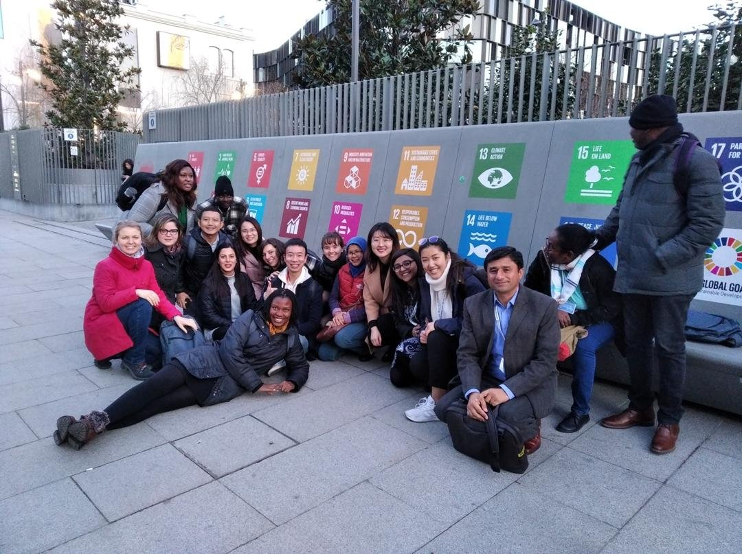 master students group sustainable development goals united nations