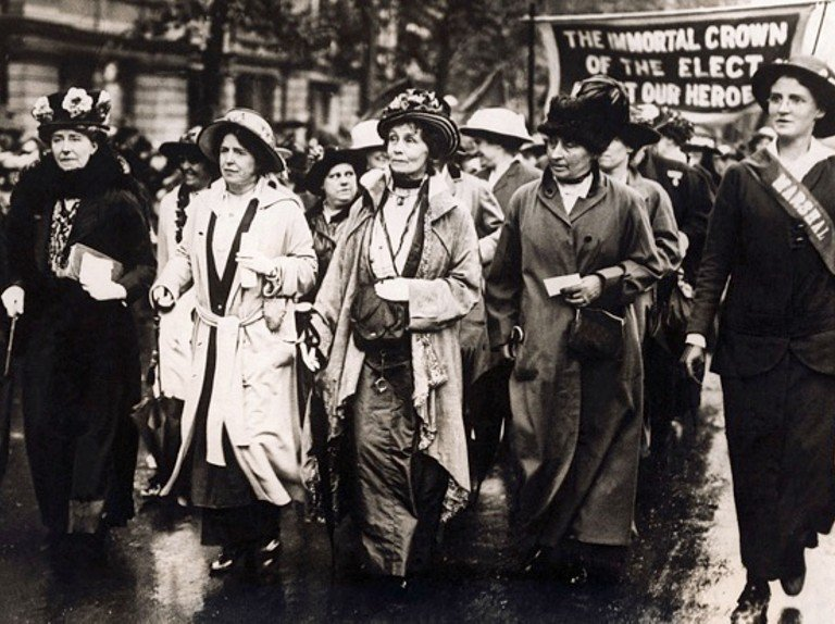 Emmeline Pankhurst (United Kingdom)