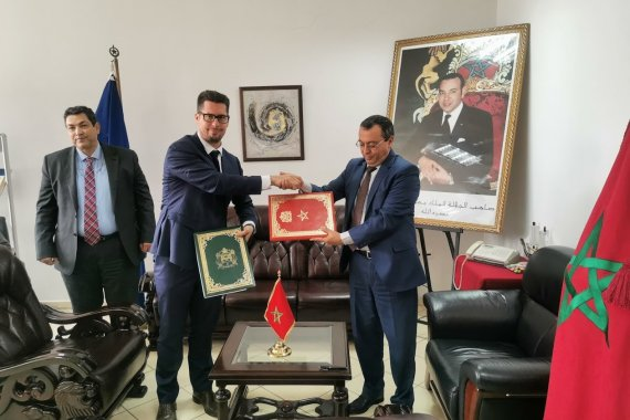 ITCILO signs a Memorandum of Understanding with the Moroccan Ministry of Labour and Professional Integration