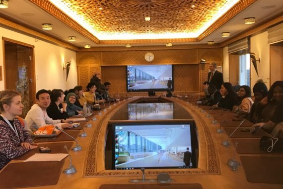 ITCILO students visit UNCTAD in Geneva