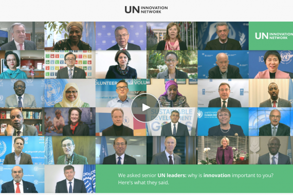 UN system network headshots