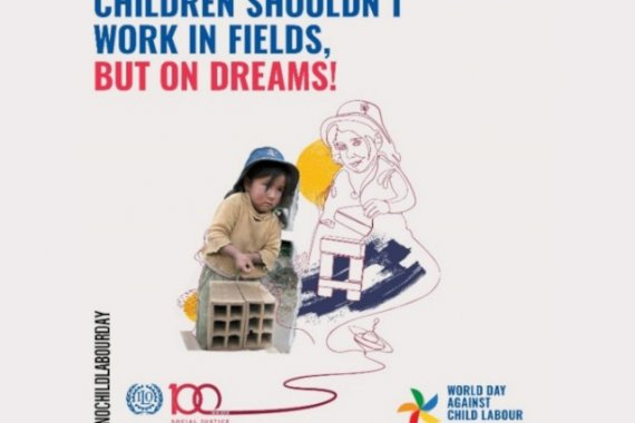 World Day Against Child Labour poster