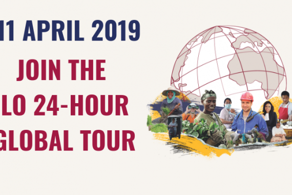 ILO 24-hour global tour