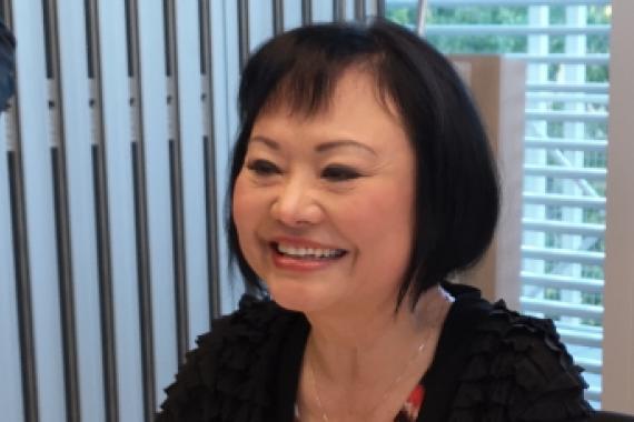 UNESCO Goodwill Ambassador Ms Kim Phúc Phan Thi meets Centre staff ...