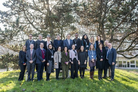 The Centre welcomes UN Capacity Development experts