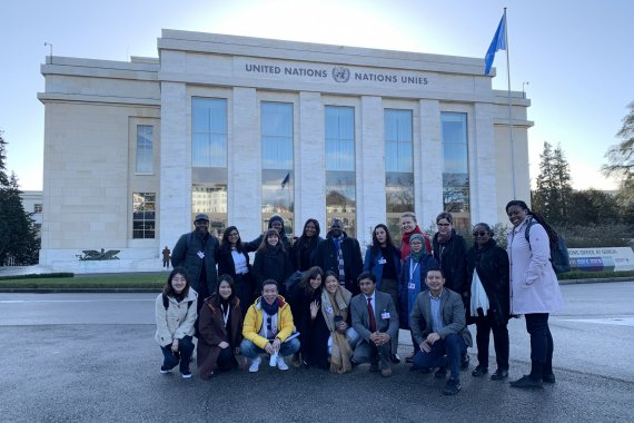 united nations geneva students