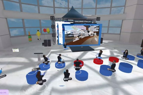 ILO virtual reality event